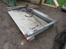TAIL LIFT ASSEMBLY, 1/2 TONNE RATED, RECENTLY REMOVED FROM TRANSIT LUTON VAN.