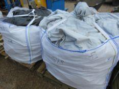 2 X BULK BAGS OF FIREWOOD TIMBER OFFCUTS.