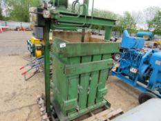 PAALS PACKURESSEN 3 PHASE COMPACTOR UNIT, WORKING WHEN REMOVED. DIRECT FROM WORKSHOP CLOSURE..
