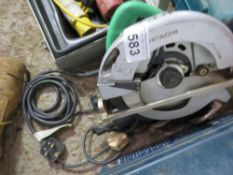 HITACHI 240V CIRCULAR SAW SOURCED FROM DEPOT CLEARANCE.
