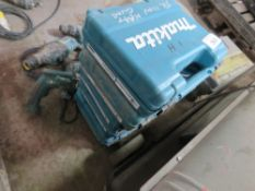 5 X MAKITA 110VOLT HOT AIR GUNS IN CASES.UNTESTED, CONDITION UNKNOWN.