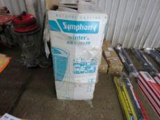 SYMPHONY 240VOLT WINTER AIR COOLER UNIT, BOXED.