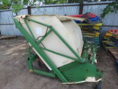 AMAZONE 135 FLAIL COLLECTOR MOWER, REQUIRES FLAIL HEADS