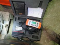 ELECOMETER 331 CONCRETE COVER METER. MODEL:THD. REINFORCING BAR DETECTION UNIT. DISPLAY LIGHTS UP WH