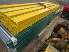 QUANTITY OF PALLET RACKING. 5 X UPRIGHTS @3M PLUS 16 X BEAMS @ 2.7M APPROX. NO VAT ON HAMMER PRICE.