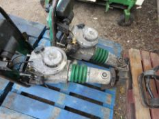 2 X WHACKER GREEN TOP TRENCH COMPACTORS, CONDITION UNKNOWN