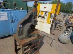 NORTON FLY PRESS ON STAND