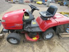 TORO WHEEL HORSE 190DH RIDE ON MOWER, HYDRO DRIVE, WITH COLLECTOR. NON RUNNER