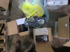 LIGHTS, WIRE AND ELECTRICAL ITEMS. NO VAT ON HAMMER PRICE.