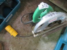 HITACHI 110V CIRCULAR SAW SOURCED FROM DEPOT CLEARANCE.