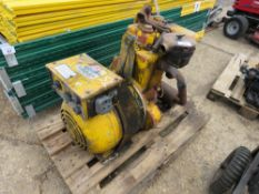 MIGHTY MIDGET HANDLE START LISTER ENGINED WELDING PLANT. NO VAT ON HAMMER PRICE. UNTESTED, CONDITION