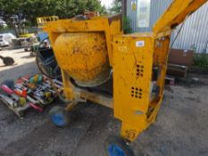 BELLE 100XT YANMAR DIESEL ENGINED SITE CEMENT MIXER. WHEN TESTED WAS SEEN TO RUN AND MIX