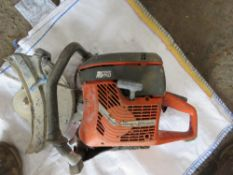 HUSQVARNA PETROL CUT OFF SAW, CONDITION UNKNOWN. DIRECT FROM UTILITIES CONTRACTOR.