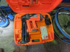 SPIT PULSA 700P NAIL GUN IN A CASE.
