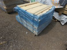 SMALL PACK OF SHIPLAP CLADDING TIMBER 80-110CM X 9.5 APPROX.