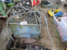 3 PHASE OIL FILLED ARC WELDER SOURCED FROM WORKSHOP CLOSURE.