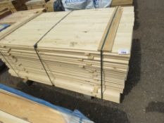 UNTREATED SHIPLAP CLADDING TIMBER BOARDS 1.72M X 9.5CM APPROX.