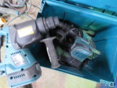 2 X MAKITA DHR242 DRILLS WITH A CHARGER BUT NO BATTERIES. UNTESTED, CONDITION UNKNOWN.