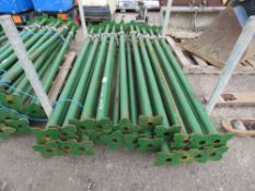 21 X ACROW TYPE BUILDER'S SUPPORT PROPS, 2M-3.5 METRE LENGTH. NO VAT ON HAMMER PRICE.