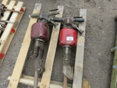 2 X HEAVY DUTY THOR AIR BREAKERS WITH POINTS.