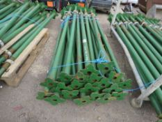 20 X ACROW TYPE BUILDER'S SUPPORT PROPS, 2M-3.5 METRE LENGTH. NO VAT ON HAMMER PRICE.