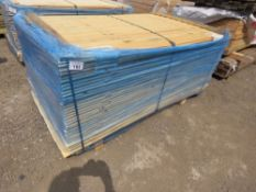PACK OF UNTREATED SHIPLAP TIMBER CLADDING 1.73M X 10CM APPROX.