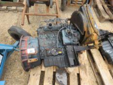 KUBOTA V1505-E 4 CYLINDER DIESEL ENGINE...CONDITION UNKNOWN.
