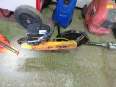 PARTNER PETROL SAW WITH A BLADE.