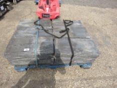 LARGE QUANTITY OF ROOF SLATES, 2FT X 1FT APPROX. NO VAT ON HAMMER PRICE.