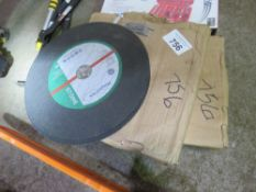 2 X BOXES CONTAINING 25PCS OF 300MM CUTTING DISCS IN EACH BOX.