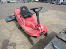 CHAMPION 6/63 RIDE ON MOWER. UNTESTED, CONDITION UNKNOWN.