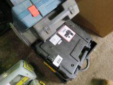 5 X EMPTY POWER TOOL CASES.