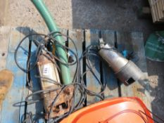 2 X SUBMERSIBLE WATER PUMPS.