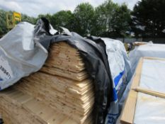 PACK OF UNTREATED SHIPLAP TIMBER FENCE CLADDING, ASSORTED LENGTHS, 1.42 & 1.8M LENGTH X 95MM WIDTH A