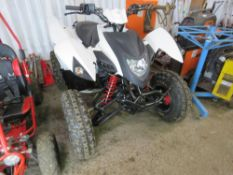 AEON 400 SPORT/ QUADZILLA RACING QUAD BIKE. 1MILE FROM NEW, UNWANTED GIFT.