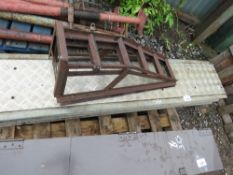 2 X 6FT ALLOY RAMPS PLUS 2 X CAR SUPPORT RAMPS.