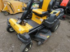 CUB CADET X23122 ZERO TURN RIDE ON MOWER, SOURCED FROM SCHOOL HAVING BOAUGHT A NEW MACHINE. WHEN TES