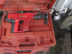 2 X PERCUSSION NAIL GUNS.UNTESTED, CONDITION UNKNOWN.