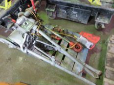 RIDGID 300 PIPE THREADER, 110VOLT, WITH ASSOCIATED ITEMS. SOURCED FROM COMPANY LIQUIDATION.