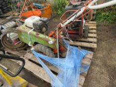 DOWDESWELL 352 PETROL ENGINED ROTORVATOR. UNTESTED, CONDITION UNKNOWN. NO VAT ON HAMMER PRICE.