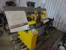 STARTRITE H280AV 3 PHASE HORIZONTAL BANDSAW. SOURCED FROM COMPANY LIQUIDATION, SEEN WORKING WHEN RE