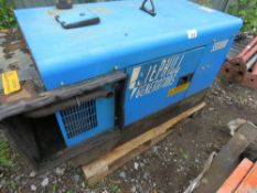 STEPHILL SSD10000 DIESEL 10KVA GENERATOR, KUBOTA ENGINED SN:301473. WHEN TESTED WAS SEEN TO RUN, OUT