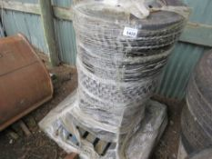 6 X 205/75R17.5 LORRY WHEELS AND TYRES. SOURCED FROM MAJOR UK ROADS CONTRACTOR.