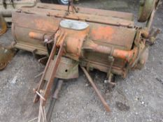 HOWARD SELECTATILTH ROTORVATOR, TRACTOR MOUNTED, 5FT WIDE APPROX. NO VAT ON HAMMER PRICE.
