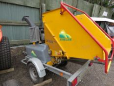 SAELEN COUGAR DR17 EVO DIESEL ENGINED CHIPPER, YEAR 2011. 251 REC HOURS. SN:11101. WHEN TESTED WAS S
