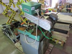 PERRIS 350 3 PHASE METAL CROSS CUT SAW, YEAR 2009. SOURCED FROM COMPANY LIQUIDATION.