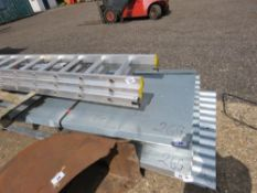 PACK OF 50NO UNUSED GALVANISED CORRUGATED ROOF SHEETS, 12FT LENGTH, 0.9M WIDE, 26 GUAGE.