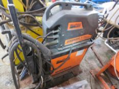 KEMPPI WELDFORCE KPS3500 MIG WELDER WITH KWF300 WIRE FEED HEAD. SOURCED FROM COMPANY LIQUIDATION.