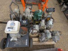 PALLET OF MIXED ENGINES AND PARTS, MAINLY HONDA.