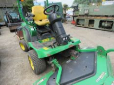 JOHN DEERE 1445 4WD OUT FRONT ROTARY RIDE ON MOWER. FASTBACK COMMERCIAL 62 DECK FITTED.